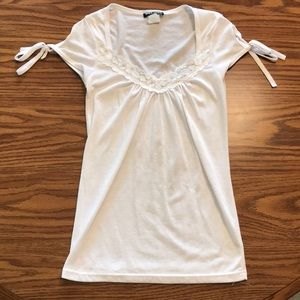 Wet Seal Size S White Top